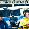 25.02.2012 Berlin, Demonstration gegen Naziläden
